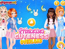 Princesses Cuteness Overload