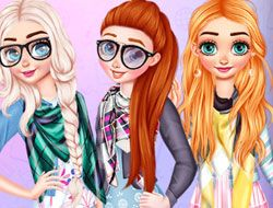 Princesses Different Styles