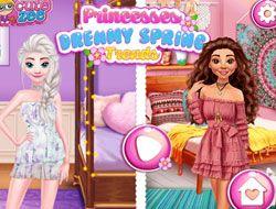 Princesses Dreamy Spring Trends