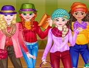 Princesses Edgy Fashion