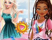 Princesses Fashion And Dare Challenge