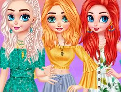 Princesses Hot Summer Days