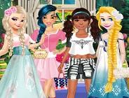 Princesses Mori Girl Style