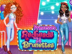 Princesses Redheads Vs Brunettes