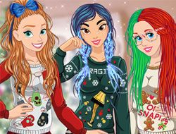 Princesses Ugly Sweater Fun