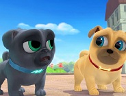 Puppy Dog Pals on the Street Puzzle