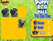 Puppy Dog Pals Tic-Tac-Toe