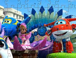 Puzzle Jett and Friends