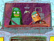 Puzzle with Pickle and Peanut