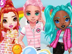 Rainbow Insta Girls