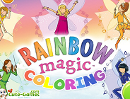 Rainbow Magic Coloring