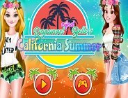 Rapunzel And Belle's California Summer
