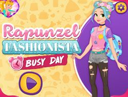 Rapunzel Fashionista Busy Day