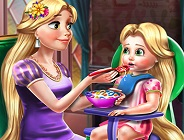 Rapunzel Mommy Toddler Feed