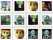 Ratchet and Clank Memory Game