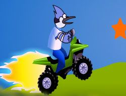 Regular Show Driving on Hills