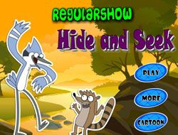 Regular Show Hide and Seek