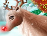 Rudolph Christmas Makeover