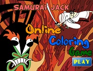 Samurai Jack Coloring