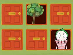Sarah and Duck Memory Game