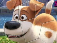 Secret Life of Pets Spin Puzzle