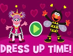 Sesame Street Dress Up Time