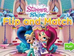 Shimmer and Shine Flip and Match