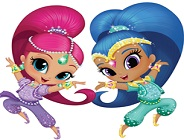 Shimmer and Shine Jigsaw 2