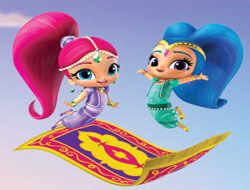 Shimmer and Shine Letter Drop
