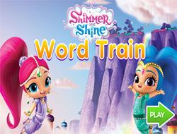 Shimmer and Shine Word Train