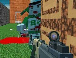 Shooting Blocky Combat Swat Gungame Survival