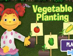 Sid the Science Kid Vegetable Planting