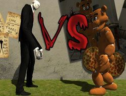 SLENDERMAN VS FREDDY THE FAZBEAR - HORROR GAMES
