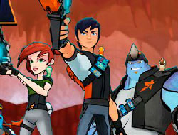 Slugterra Jewel Match