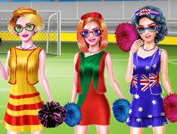 Soccer Cheerleader Championship