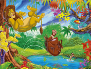 Sort My Tiles Lion King Timon & Pumba