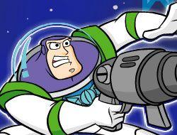 Space Ranger Buzz Lightyears Galactic Shootout
