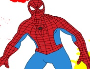 Spiderman Online Coloring Game