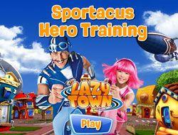 Sportacus Hero Training