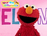 Spot the Difference with Elmo