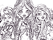 Star Darlings Coloring Page
