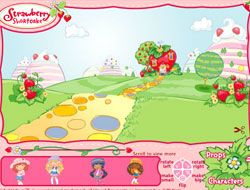 Strawberry Shortcake Sticky Stickers