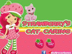 Strawberrys Cat Caring