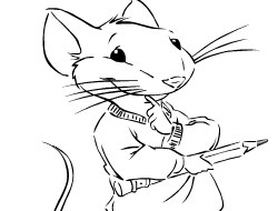 Stuart Little 2 Coloring Book