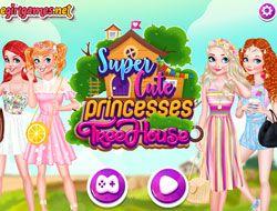 Super Cute Princesses Treehouse