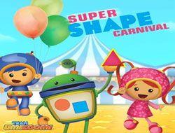 Super Shape Carnival Puzzles