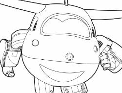 Super Wings Coloring