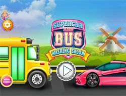Supercar And Bus Washing Salon
