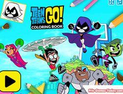 Teen Titans Go Coloring Book