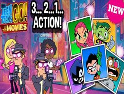 Teen Titans Go To The Movies 3 2 1 Action
